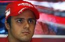 图文:[F1]意大利站次回练习 马萨神情专注
