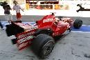 图文:[F1]意大利站次回练习 马萨驶出维修间