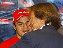 图文:[F1]意大利站末次练习 马萨与蒙特泽莫罗