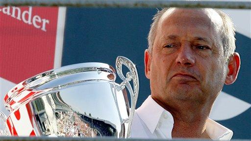 图文:[F1]意大利站正赛 丹尼斯心情很复杂