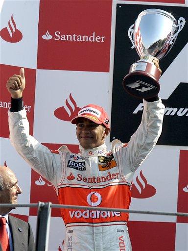 图文:[F1]意大利站正赛 亚军也是一种胜利