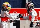 图文:[F1]意大利站正赛 他们再一次的握手