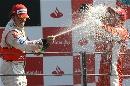 图文:[F1]意大利站正赛 莱科宁的狂饮