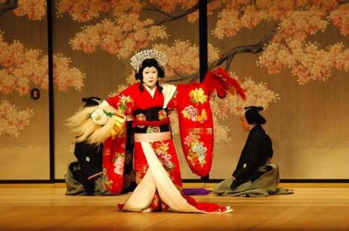 日本国粹歌舞伎来杭州巡演(组图)