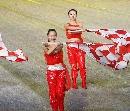 图文:[女足]世界杯开幕式 美女现场表演