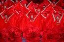 图文:[女足]世界杯开幕 演绎红色魔幻