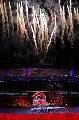图文:[女足]世界杯开幕 火焰照亮虹口