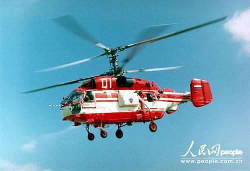 卡-32型双发共轴反转旋翼通用直升机 图片:俄罗斯卡莫夫公司(Kamov  company  Photo)