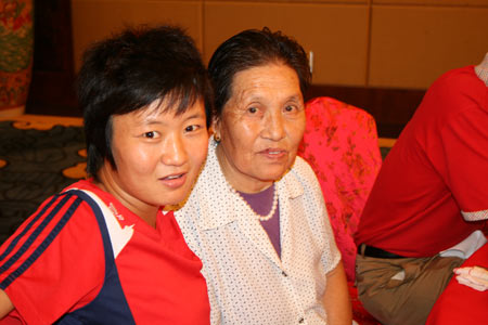 刘亚莉和奶奶