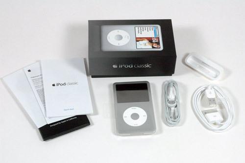 苹果新iPod classic拆解