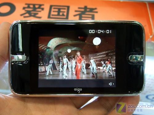 看RMVB视频 2GB爱国者F965R大批量到货