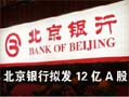北京银行上市