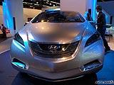 现代i-Blue燃料电池车,2008北京车展新能源