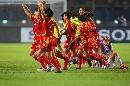 图文:[世界杯]中国3-2丹麦 丹麦女足面无表情