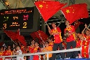 图文:[世界杯]中国3-2丹麦 球迷为女足加油