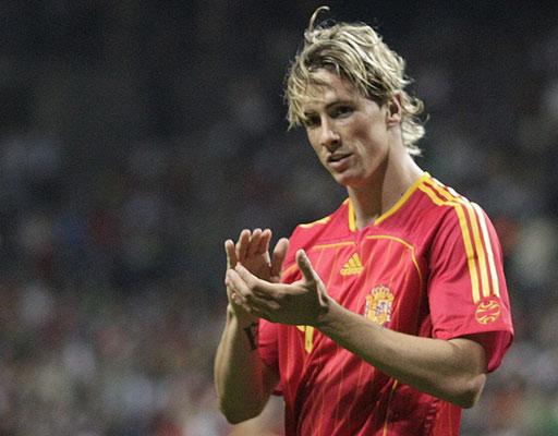图文:西班牙2-0拉脱维亚 托雷斯锁定胜局