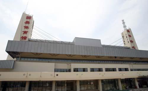奥体中心体育馆改扩建工程竣工 整体环境明亮宽阔
