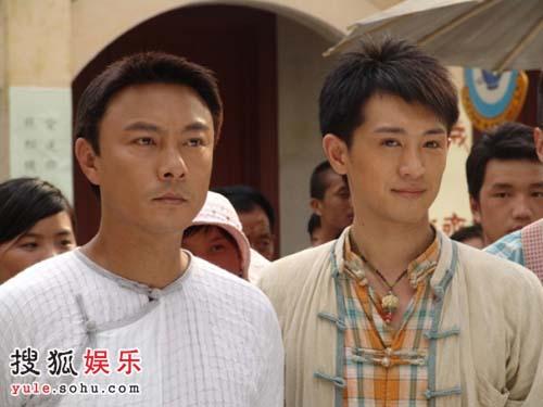 师傅张卫健和徒弟郑晓东