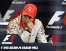图文:[F1]比利时大奖赛赛前 阿隆索参加发布会