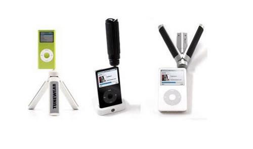概念终于成真 三角架iPod扬声器问世