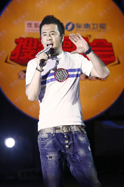 图:杨坤搜狐歌会 演唱《穷浪漫》