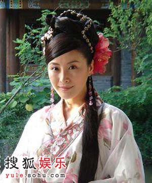 《大明王朝》中的芸娘王雅捷