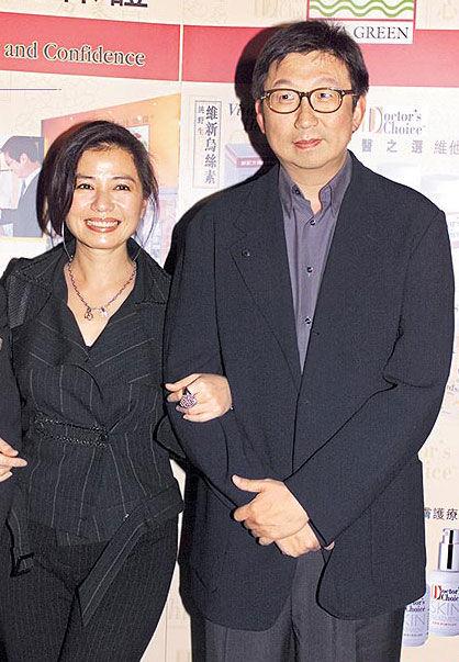 钟楚红与朱家鼎16年甜蜜生活已成追忆(资料图片)