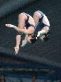 图文:世界跳水赛郭晶晶吴敏霞夺冠 三米板决赛