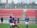 图文:[中甲]哈尔滨0-1上海 双方争抢位置