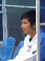 图文:[中甲]哈尔滨0-1上海 彭伟国指挥比赛