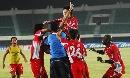 图文:[中超]厦门2-1武汉 队员狂喜庆祝绝杀