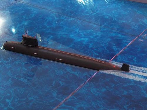 人民网图片:外界盛传这就是093型攻击型核潜艇