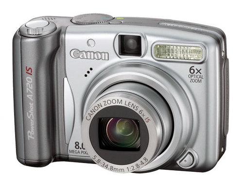 佳能A720 IS降 9月17日百款相机价格表