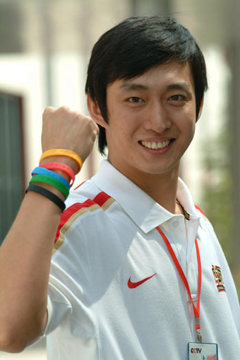 图文:北京赛区十强诞生 张欣传递奥运圣火