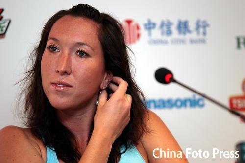 图文:中网进入WTA赛首日 扬科维奇出席发布会