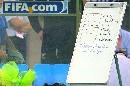 图文:[世界杯]新西兰备战 球队训练战术板