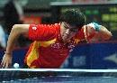 图文:乒球亚锦赛男团小组赛 中国3-0完胜印尼