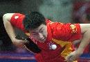 图文:乒球亚锦赛男团小组赛 马龙3-0横扫若欧