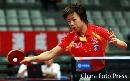 图文:亚乒赛中国女团3-0泰国 张怡宁正手回球