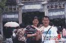 图文:张国政与爱妻幸福生活 夫妻牵手永不离