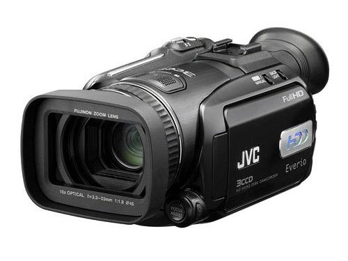 高清硬盘摄像机 JVC HD7AC送专业刻录机