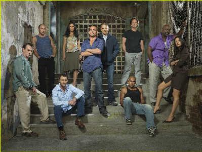 《越狱》第三季宣传照