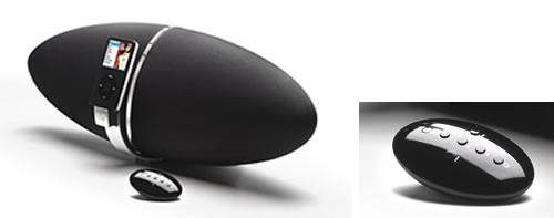 橄榄球型奢华iPod扬声器开卖 599美元