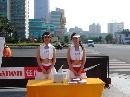 组图:[中超]巡回路演长沙站 美女工作人员助阵
