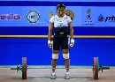 图文:女子53kg抓举赛 泰国选手苏达是主要对手