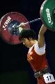 图文:女子53公斤级比赛 李萍获挺举总成绩两金