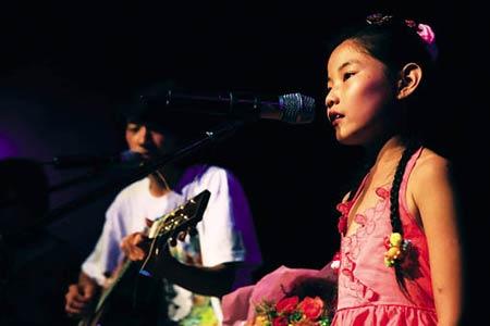 7月12日星光乐队在酒吧表演  图 夏小弟