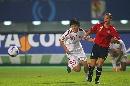 图文:[世界杯]中国0-1挪威 马晓旭追球瞬间