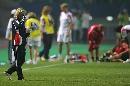 图文:[世界杯]中国0-1挪威 多曼掩面
