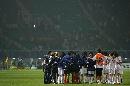 图文:[世界杯]中国0-1挪威 赛后球员一起鼓励